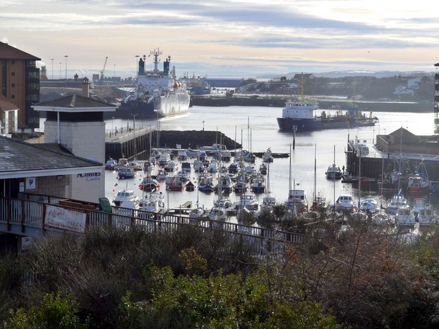 Sunderland Marina from Harbour View