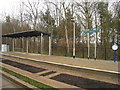 TL4554 : Trumpington Guided busway stop by Sandy B