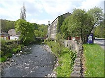 SE0026 : Walkley's Mill, Mytholmroyd by Humphrey Bolton