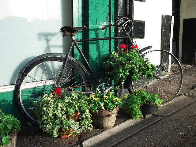Old bicycle, Bangor