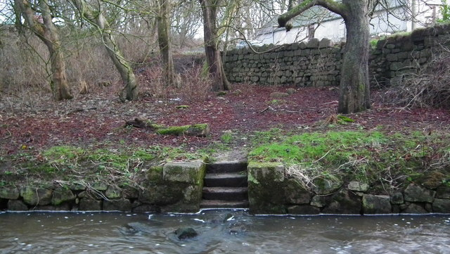 Steps at Water of Cruden