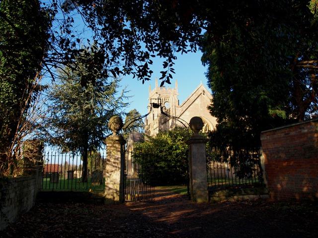 The Gate to Melksham Churchyard