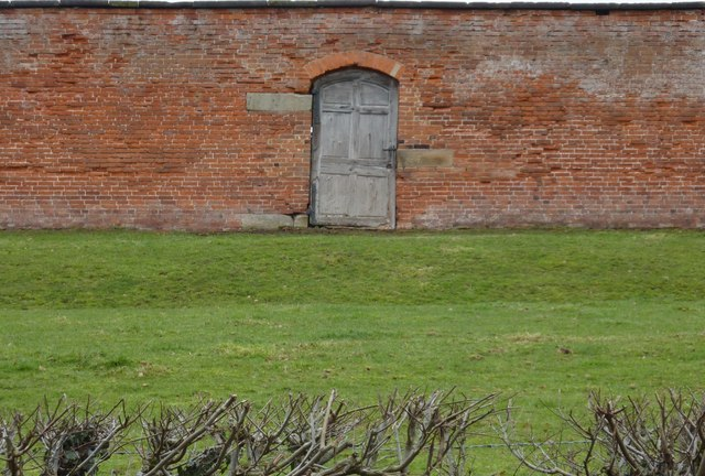 Brick Wall And Door 169 Peter Barr Geograph Britain And