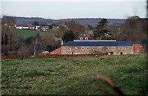 SY0280 : East Devon : Field & Prattshayes Farm by Lewis Clarke