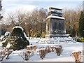 NS3880 : Bonhill Parish War Memorial by Lairich Rig