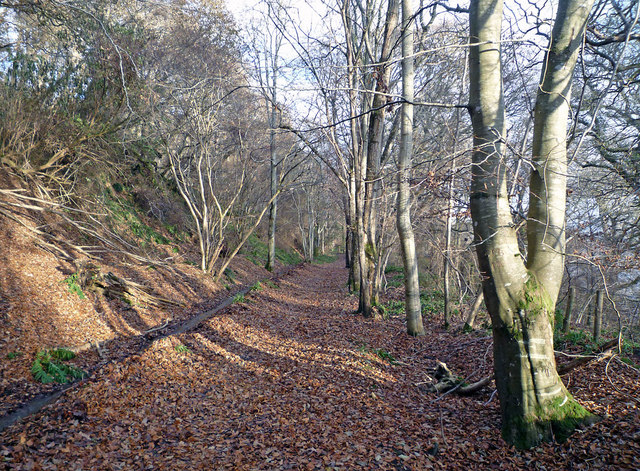 The old Avoch to Fortrose Railway Line