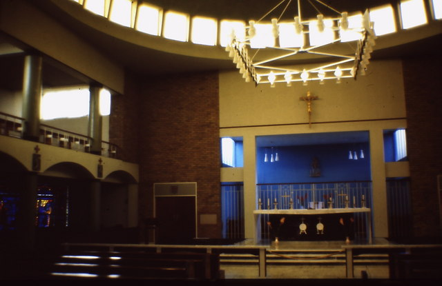 St Raphaels Catholic Church, Millbrook - interior