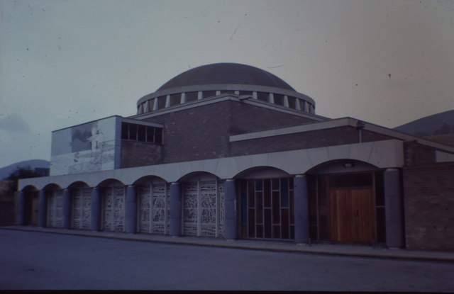 St Raphaels Catholic Church, Millbrook - exterior 1966