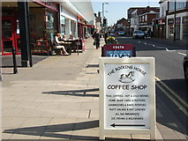 SP2871 : Advertising boards, Warwick Road, Kenilworth by John Brightley