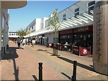 SP2871 : The Warwick Road entrance to Talisman Square by John Brightley