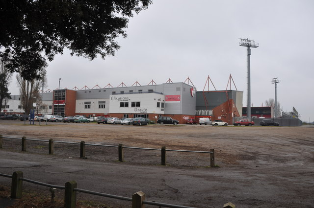 Bournemouth : Boscombe - Dean Court Football Stadium