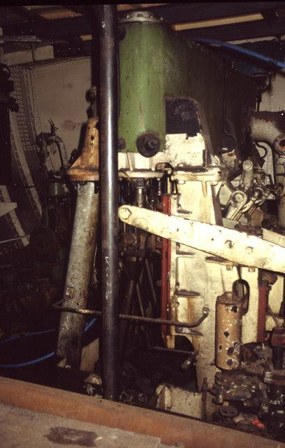 SS Ocean Mist, Leith - steam engine