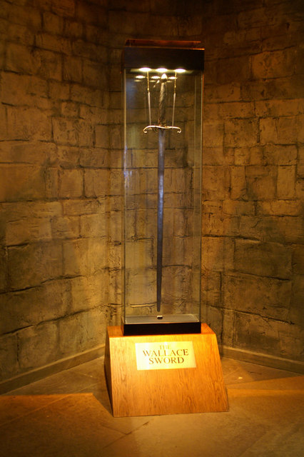 The Wallace Sword, Wallace Monument, Stirling