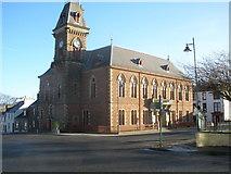 NX4355 : Town Hall Wigtown by John Ferguson