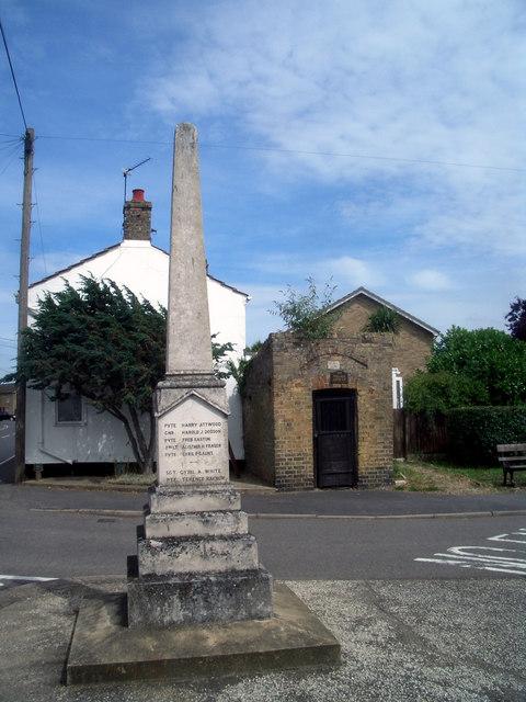 Memorial and Lock-up, Needingworth