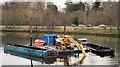J3472 : Dredging the River Lagan, Belfast  -  2010/11 (91) by Albert Bridge