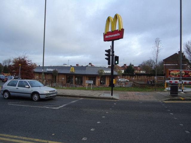 McDonald's restaurant, Colindale
