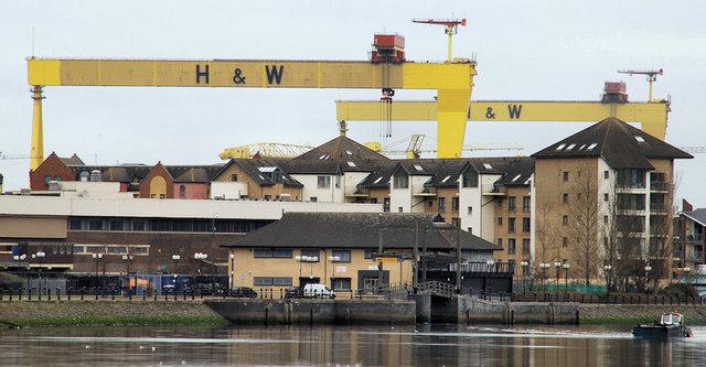 Harland & Wolff cranes, Belfast