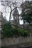 TQ1572 : Clock turret, St Mary's University College, Twickenham by David Kemp