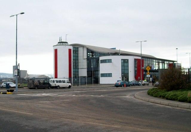 The Irish Ferries Passenger Terminal, Dublin Port