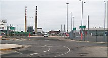 O2034 : Vehicle Check in Area  at Terminal 1, Dublin Port by Eric Jones
