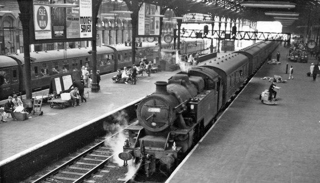Preston Station: Up side, Platforms 6, 7 and 8