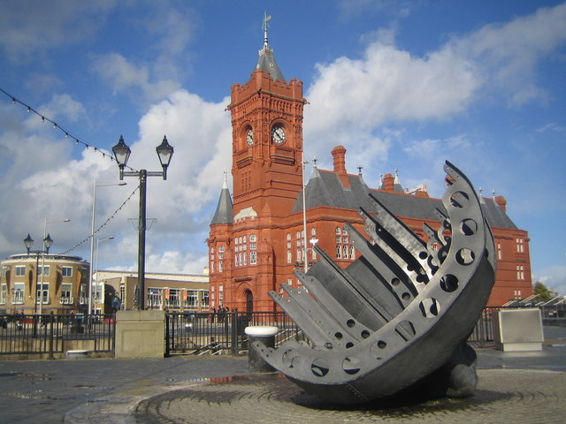 pierhead building cardiff bay 169 paul lang geograph