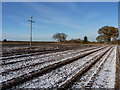 SO7597 : Wintertime footpath at Cranmere by Richard Law