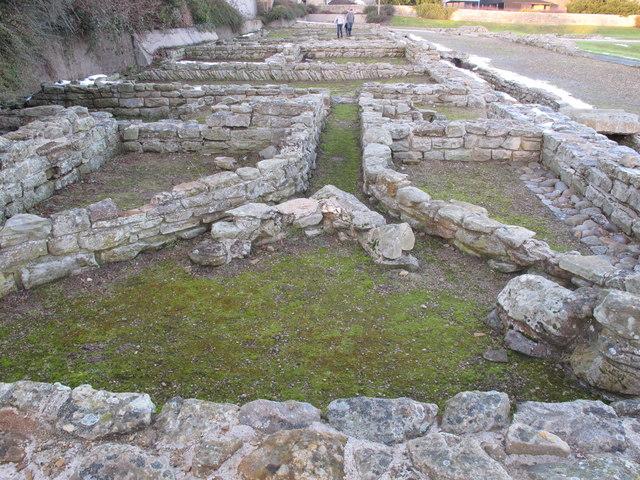 Ruins of Roman bath house, Piercebridge