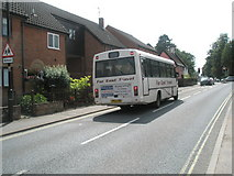 TM2850 : Bus in The Street by Basher Eyre