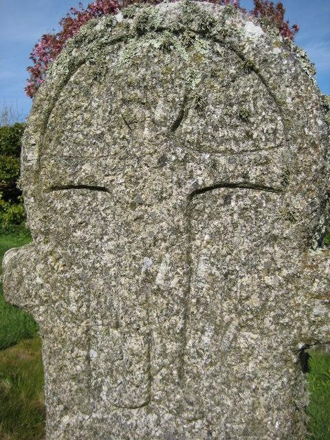 Detail on a gravestone