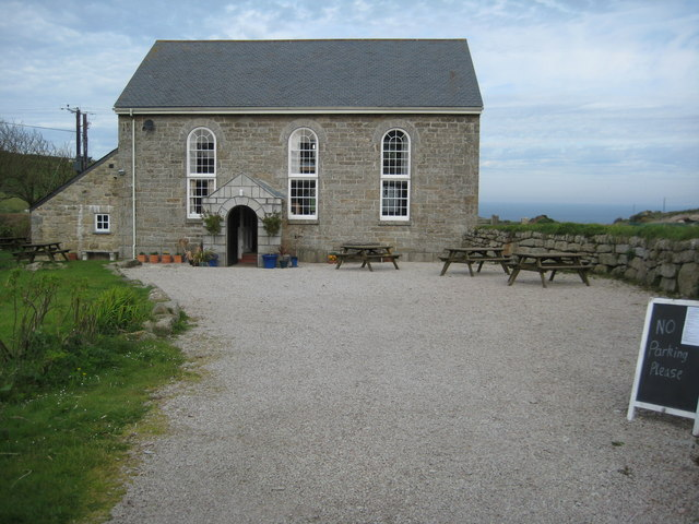 Former chapel in Zennor