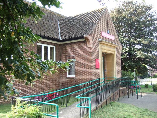 Westbury on Trym public library