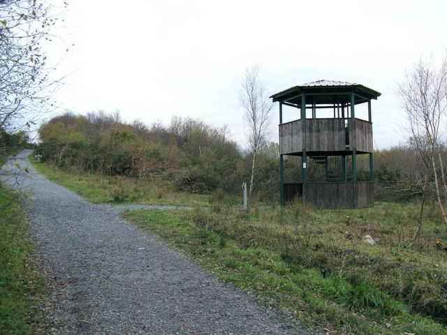 Viewing Tower in Allt Nant-y-Ci Recreation Park