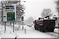 TQ2690 : Northbound In The Snow by Martin Addison