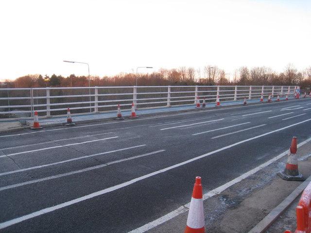 Brunel Road bridge