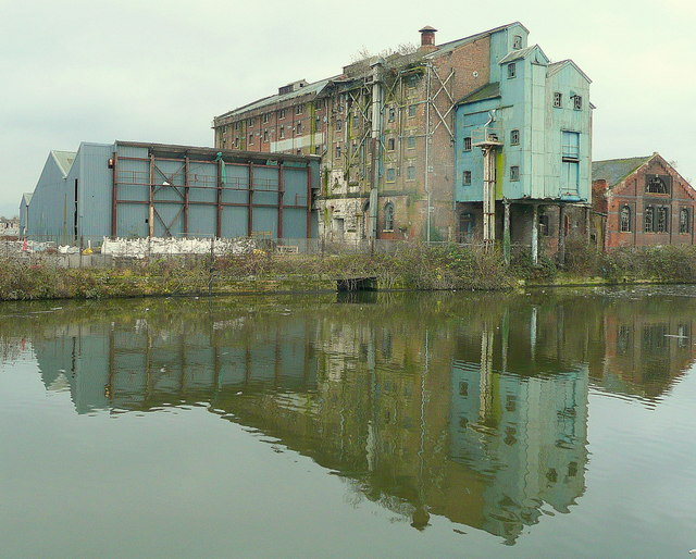 Derelict warehouse, Baker's Quay 3