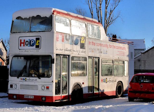 """Hope"" bus, Belfast"