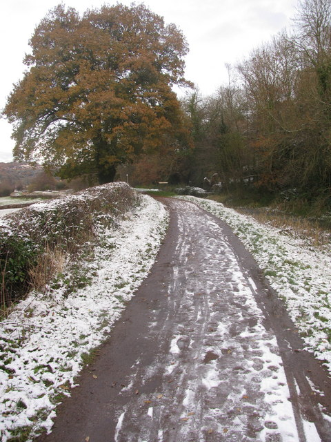 Snow on the Towpath