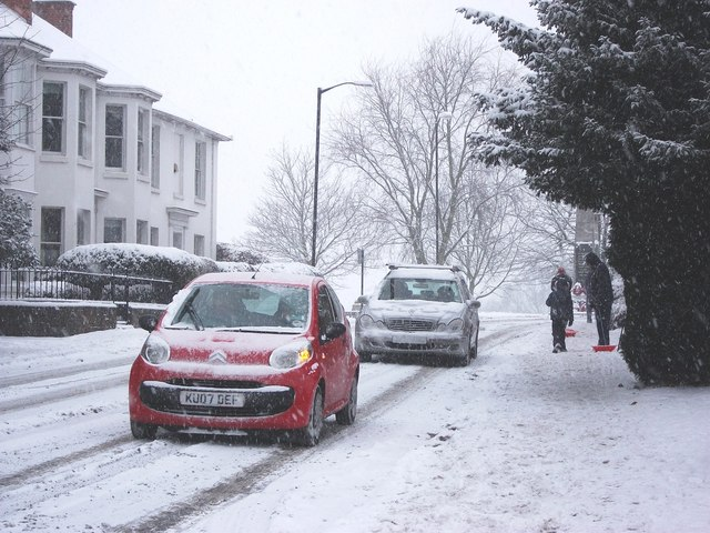 Snow in Abbey End