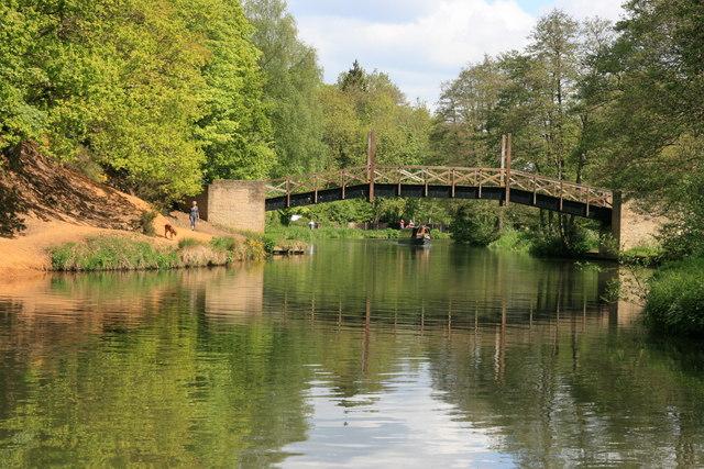 The Pilgrims Way crosses the River Wey