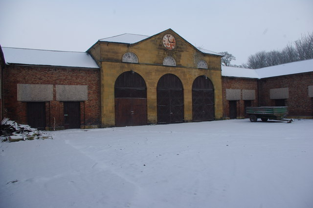 Stables and Coach House, Woolsington Hall