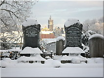 J3652 : Snow in Ballynahinch by Dean Molyneaux