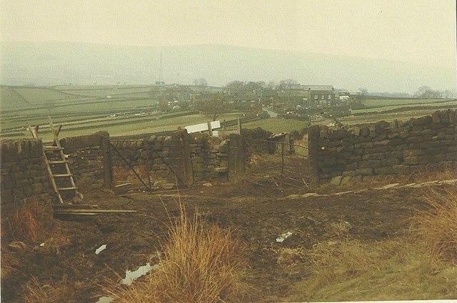Mankinholes in 1984