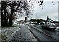 SU6705 : A snowy scene in Fitzherbert Road (2) by Basher Eyre