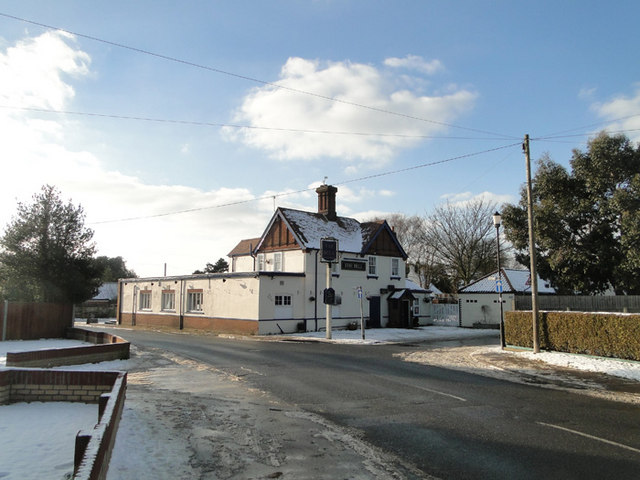 The Bell Public House At Hemsby Norfolk C Adrian S Pye Geograph