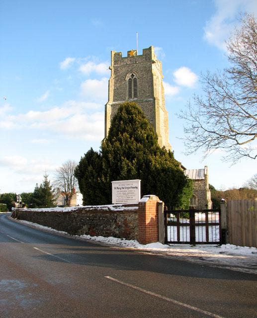St Mary's church in Hemsby