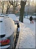 SX9164 : Snow on Lymington Road, Torquay by Derek Harper
