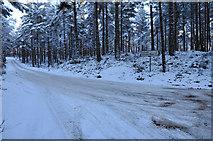 NH9817 : Road junction near Tulloch by Steven Brown