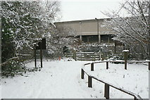 TQ2078 : The entrance to Gunnersbury Triangle Nature Reserve by Alan Murray-Rust